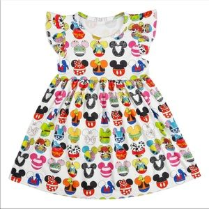 Disney Minnie & Mickey Handmade Custom Dress/Top